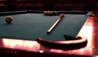 Professional pool table setup in Marana content img2